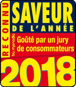 saveur de l'année 2018