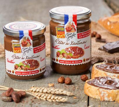 Notre pâte à tartiner aux noisettes du Lot et Garonne